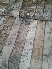 Dekostoff Fotodruck Holz Bretter Shabby 0,50x1,40 Meterware Baumwollmischung