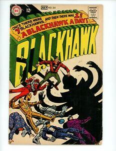 Blackhawk #241, VG, 1968