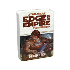 Droid Tech Specialization Deck: Star Wars Edge of the Empire RPG - English - NEW