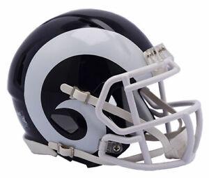 Los Angeles Rams 2017 Alternate Riddell Speed Mini Helmet New in box