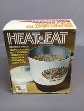 Vintage HEAT & EAT Electric Hot Pot K-Mart NEW OLD STOCK NOS