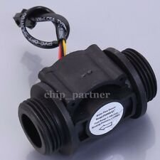 "1in 1"" Water Flow Hall Sensor Switch Flowmeter Flow Meter Counter 1-60L/min"