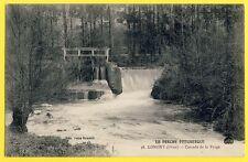 cpa Le Perche 61 - LONGNY (Orne) CASCADE de la FORGE Vanne Ecluse