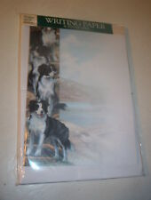 Otter House Writing Paper The Borders 20 Sheets & Envelopes (Border Collies)