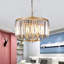 Luxury K9 Crystal Chandelier Pendant Lamp Modern Gold Lighting Ceiling Fixtures