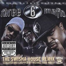 Most Known Unknown [Screwed and Chopped] [PA] by Three 6 Mafia (CD, Sep-2005,