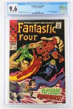 Fantastic Four #63 -NEAR MINT- CGC 9.6 NM+ Marvel 1967 - Sandman & Blaastar App!