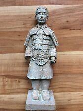 Chinesische Figur Dekofigur Statue Terrakotta Armee  Höhe 20 cm