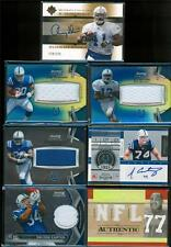 INDIANAPOLIS COLTS Football Card Game Used Jersey/Relic and AUTO Lot(13) $125