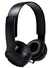 NEW! DJ Style Stereo Headphones HQ Sound Home Audio Studio Phone Tablet PC Black