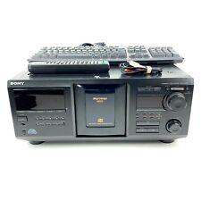 SERVICED Sony CDP-CX400 400 CD Mega Storage Player w/ Remote Keyboard NEW Belts