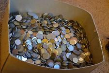60 Monedas Mundiales limpia Colección-Free UK Post