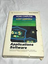 Texas Instruments Home Computer Applications Software Alien Addition Video Game