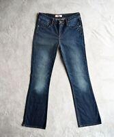 Womens LEVIS 629 Jeans Blue Bootcut Stretch Denim Mid waist Size W29 L32 UK 8/10