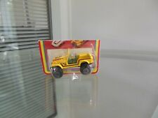 VINTAGE WOOLWORTH YATMING YELLOW 4X4 JEEP IN CUT CARD BLISTER M/NM