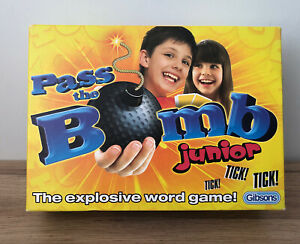 PASS THE BOMB JUNIOR Family Card Word Game By Gibson's VGC