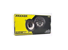 """New listing Kicker Csc5 5.25"""" 225W 2 Way 4 Ohm Coaxial Car Audio Speakers Pair 