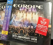 EUROPE The Final Countdown 30th Anniversary Show Roundhouse JAPAN BLU-RAY + 2CD