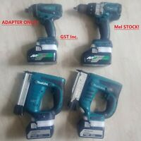 *EU ONLY* Makita 18v Compact Driver/Drill/Grinder To Hitachi 18V Battery Adapter