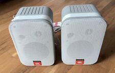 JBL CONTROL 1 PRO WHITE TWO-WAY COMPACT INSTALLATION MONITOR - PAIR