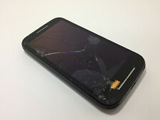 Motorola Moto E Dual Sim Black - XT1022 - For Parts Broken Screen - As It Is