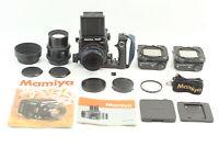 [N Mint] Mamiya RZ67 Pro II Camera w/Grip Sekor Z 110mm F2.8 180mm F4.5 W ✈Japan