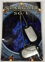 STARGATE SG-1 Jack O'Neill Dog Tags Official Licensed Prop Legends Memorabilia