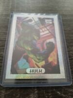 Marvel Masterpieces Limited Edition Holofoil 4 Of 10 Hulk Card