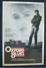 OXFORD BLUES ORIGINAL FOLDED ONE SHEET MOVIE POSTER RARE STYLE B ROB LOWE 1984