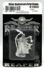 Reaper 01600 Silver Anniversary Grim Reaper (January) Death Skeleton with Scythe