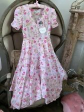 LoveShackFancy for Target Audrey Handkerchief 100% Cotton Dress Size 2 XS NWT