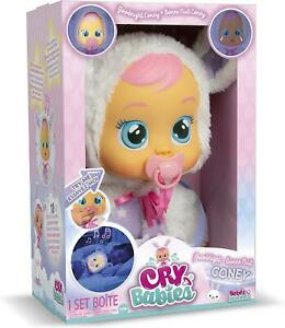 IMC Toys Cry Babies Coney Goodnight Interactive Baby Doll Cries Real Tears Toy