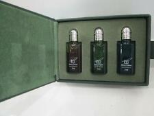 "N°3 MINI PROFUMO UOMO EDT 7ml "" HENRY COTTONS - RED/GREEN/BLUE "" NUOVI - VINTAGE"