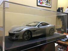 BBR 1/18 Ferrari Portofino , closed roof, matt silver - no looksmart, mr, cmc
