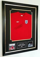 England 1966 SIGNED Shirt Geoff Hurst Signed Jersey Autographed Frame and COA