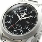 SEIKO 5 SNK809 SNK809K1 Automatic 21 Jewels Black Dial Stainless Steel Men Watch