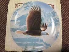 The Bald Eagle Collector Plate by Daniel Smith 1988 Knowles China