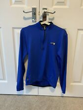 Briko Long Sleeve Cycling Jersey Warmer Dry Size Medium Blue