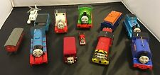 Lot of 12 Thomas the Train Plastic Cars and Engines Stanley Salty Sir Handle
