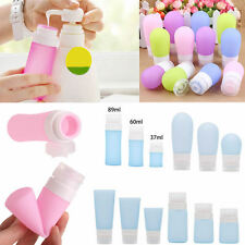 Travel Silicone Bottle Shampoo Shower Lotion Sub-bottling Tube Squeeze Container