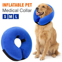 Inflatable Pet E Collar Dog Soft Cat Puppy Head Medical Surgery Protection Cone