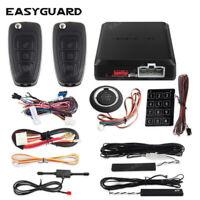 PKE auto start Car Alarm System Push Button Start Keyless entry remote starter