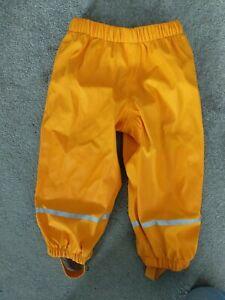 Kids waterproof trousers 12-24 Months