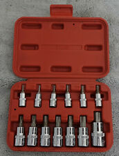 New ListingMac Tools St13B 13-Piece Combination Star / Torx Driver Set - Exc in Case!