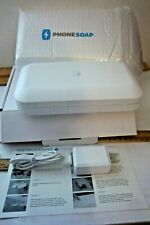 PHONE SOAP Phone UV Sanitizer Open box WHITE