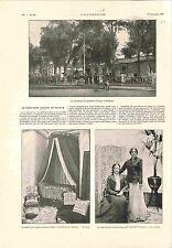 Résidence du Président Paul Kruger à Prétoria / Hôtel de Marseille GRAVURE 1900