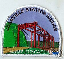 ZOARVILLE STATION BRIDGE PATCH