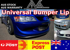 Universal Bumper Lip Spoiler Splitter for CC CE Lancer Evo Evolution GSR 4G63 MR