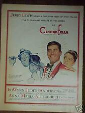 1960 CinderFella Movie Jerry Lewis (Norman Rockwell) Art Print Ad
