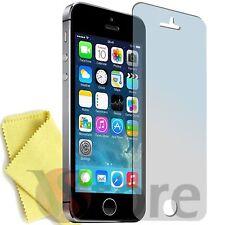 2 Pellicola Per iPhone 5 5S 5C Proteggi Schermo Display Apple Fronte + Panno